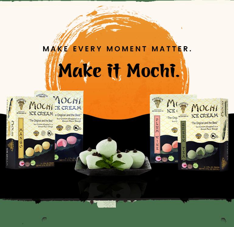 Four Boxes of Mikawaya Mochi Ice Cream