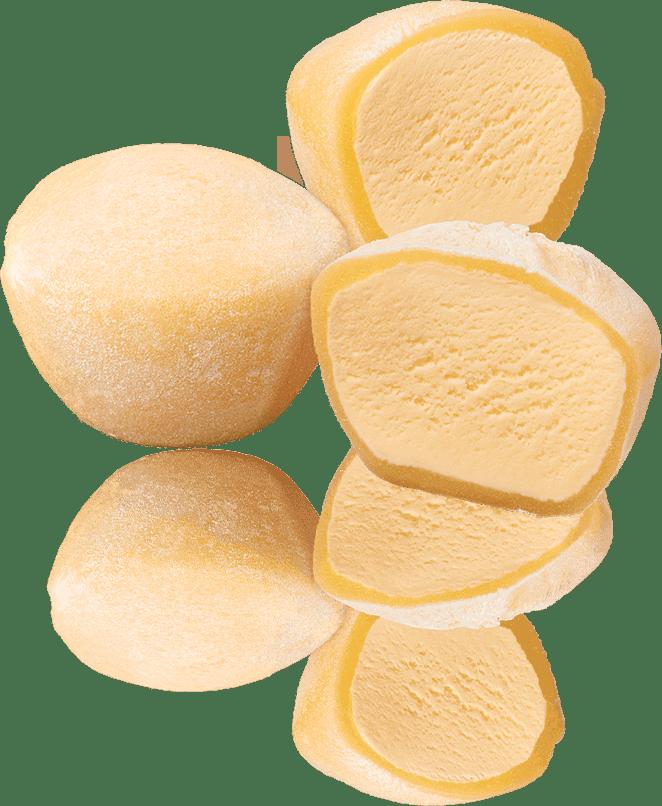 Mochi Ice Cream Diagram Whole and Cut - What is Mochi Ice Cream