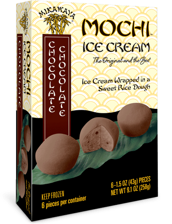Mikawaya Mochi Ice Cream - Chocolate