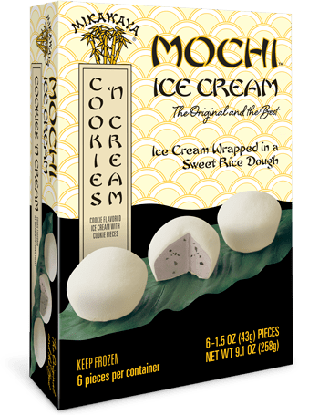 Mikawaya Mochi Ice Cream - Cookies n Cream