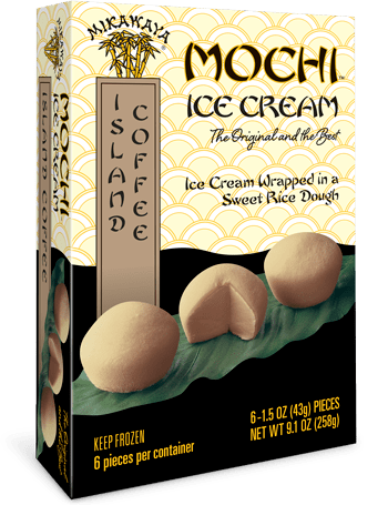 Mikawaya Mochi Ice Cream - Island Coffee