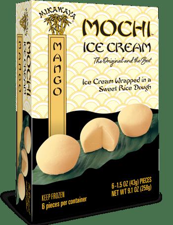 Mikawaya Mochi Ice Cream - Mango
