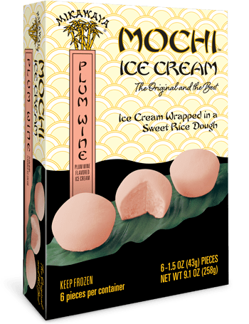 Mikawaya Mochi Ice Cream - Plum Wine