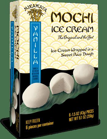 Mikawaya Mochi Ice Cream - Vanilla