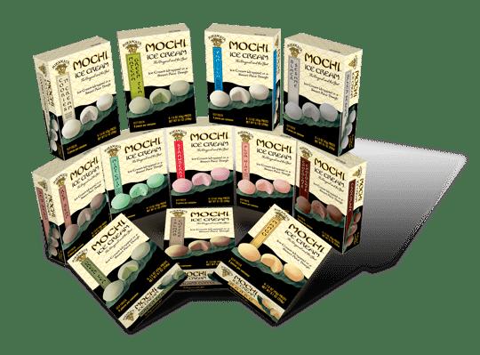 All Mochi Flavors